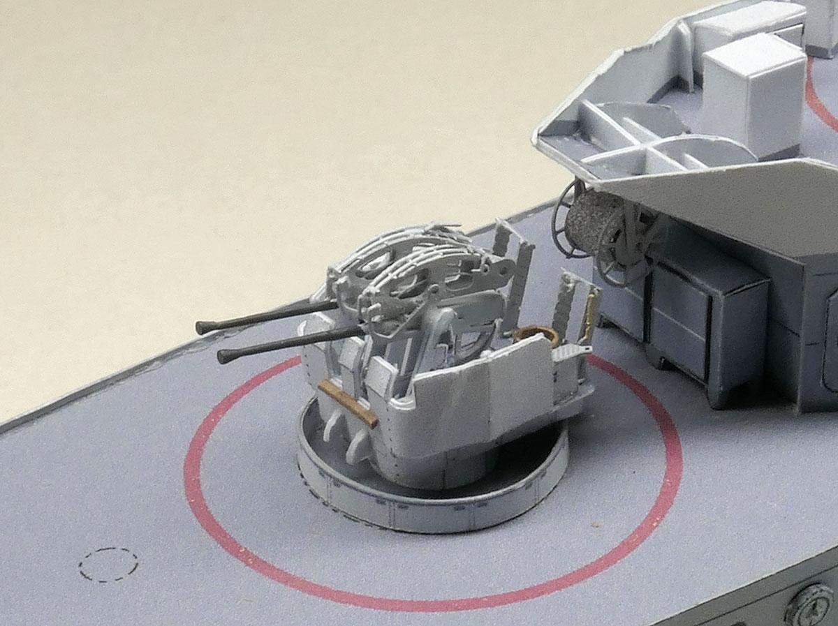 F212 GNEISENAU – Bofors, die Zweite …