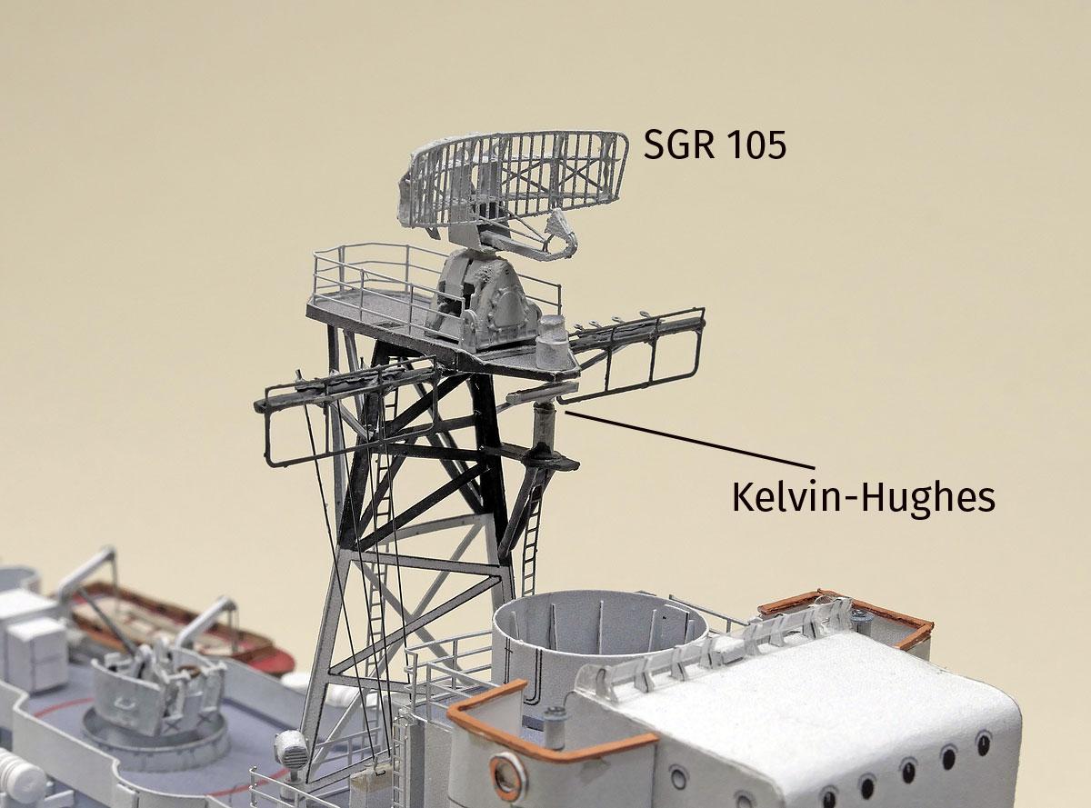 F212 GNEISENAU – Radar – geht klar!