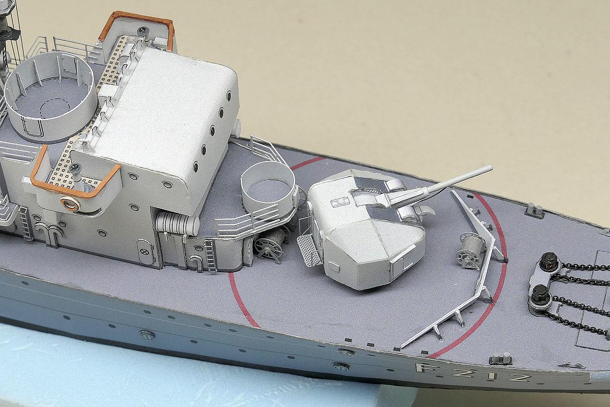 F212 GNEISENAU – 100 mm Creusot-Loire – nicht nur Schlösser wurden an dem Fluss gebaut …